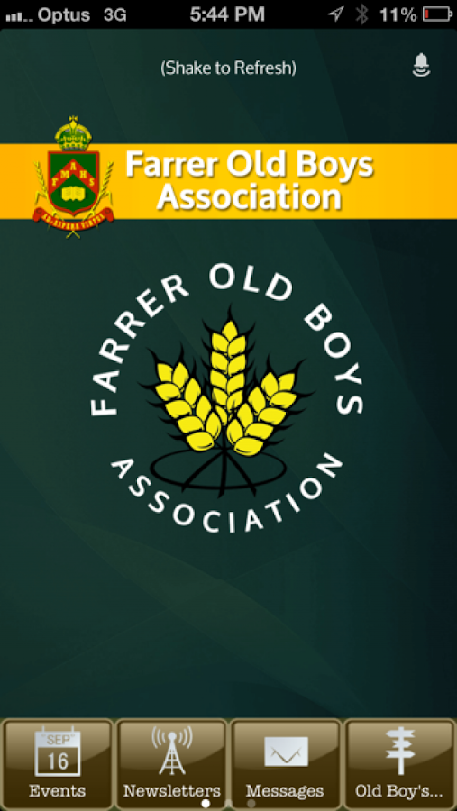 Farrer Old Boys Association- screenshot