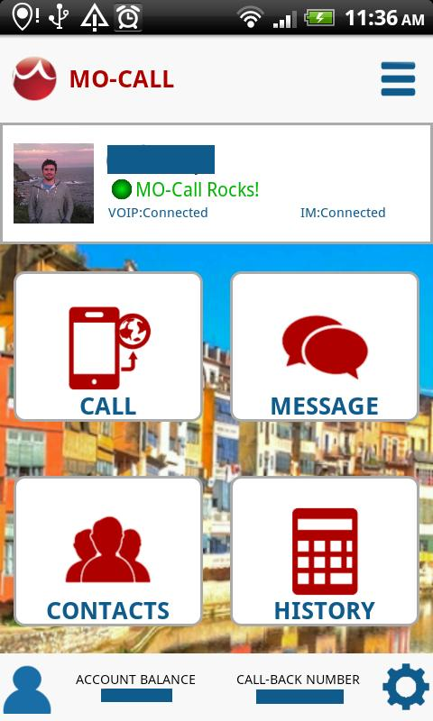 MO-Call VoIP Cheap Free Calls - screenshot