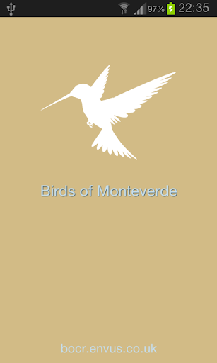 Bird Guide to Monteverde CFR