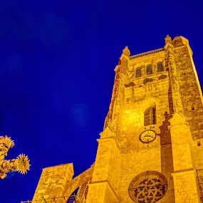 Reaching 4 the Sky by Marcel de Groot - Buildings & Architecture Places of Worship ( blue, orange. color )