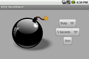 Screenshot of Dirty Soundboard