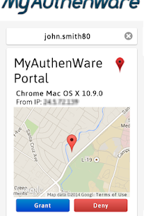 MyAuthenWare Lite- screenshot thumbnail