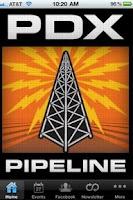Screenshot of PDX Pipeline: Portland Events