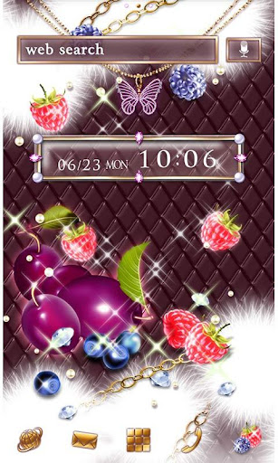 Girly Theme-Sparkle Fruits- 1.0 Windows u7528 1