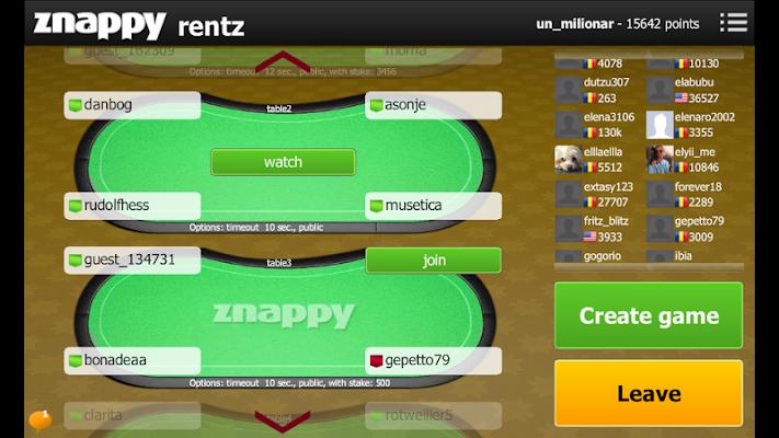 Rentz Znappy - screenshot