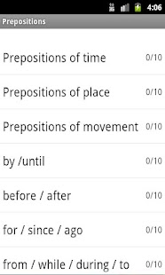 Prepositions Lite - screenshot thumbnail
