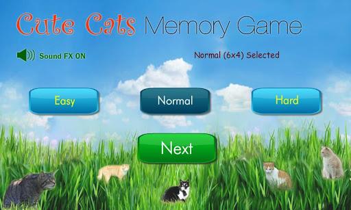 當可愛遇見貓 記憶遊戲