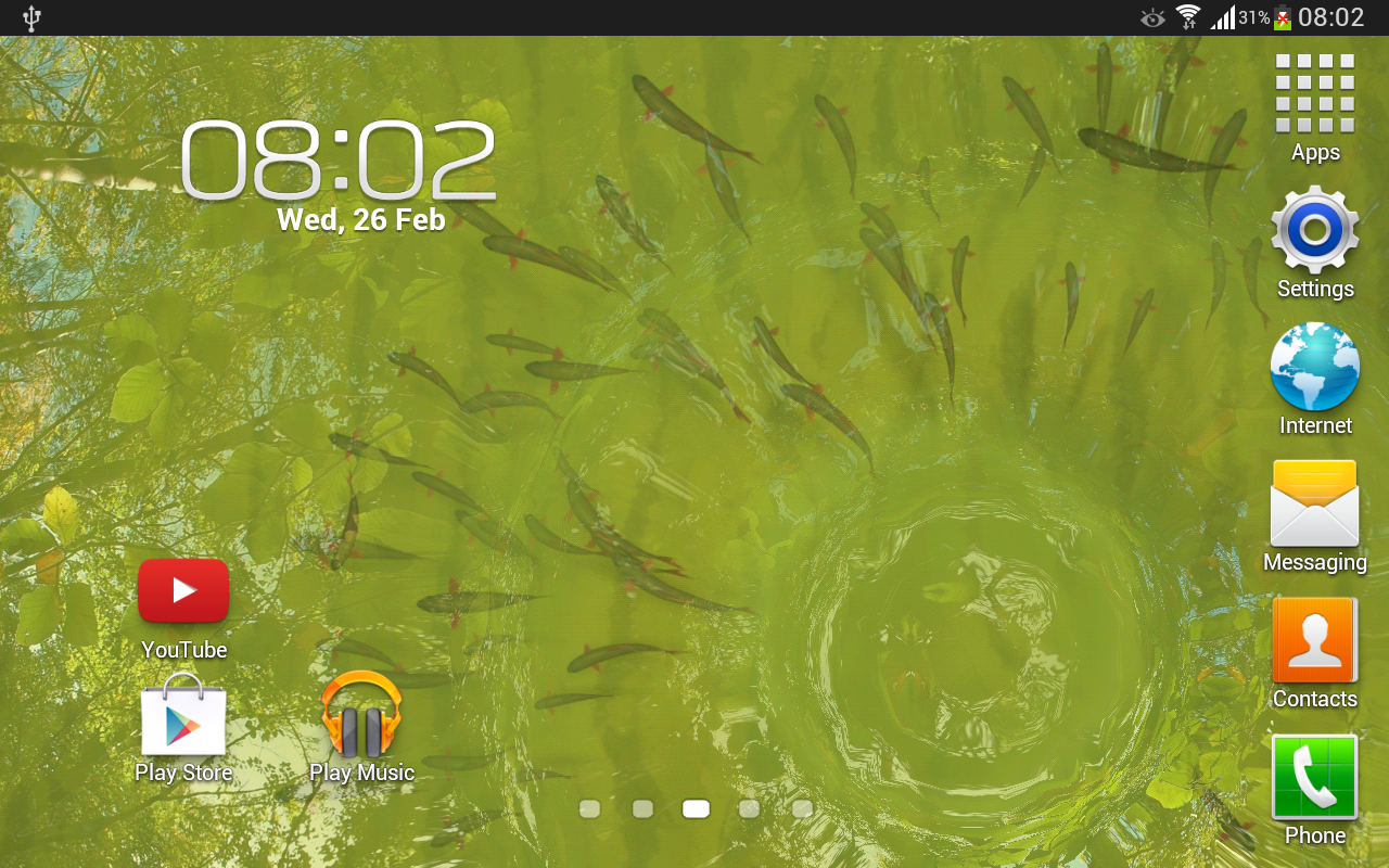 True Water Live Wallpaper - screenshot