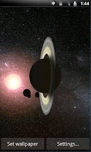 Solar System 3D Wallpaper Lite- screenshot thumbnail