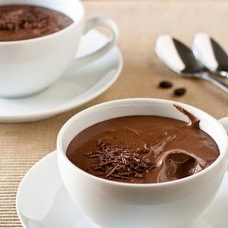 Individual Dark Chocolate Mousse