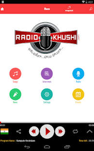 RadioKhushi Hindi Telugu Radio- screenshot thumbnail