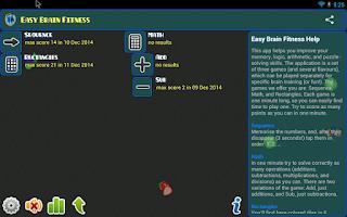 Screenshot of Easy Brain Fitness
