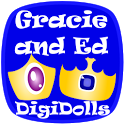 Gracie and Ed Digi-Dolls Free icon