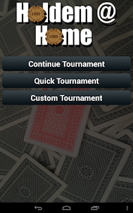 Holdem @ Home - screenshot thumbnail