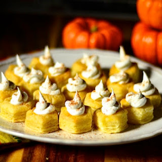 Pumpkin Custard Bites