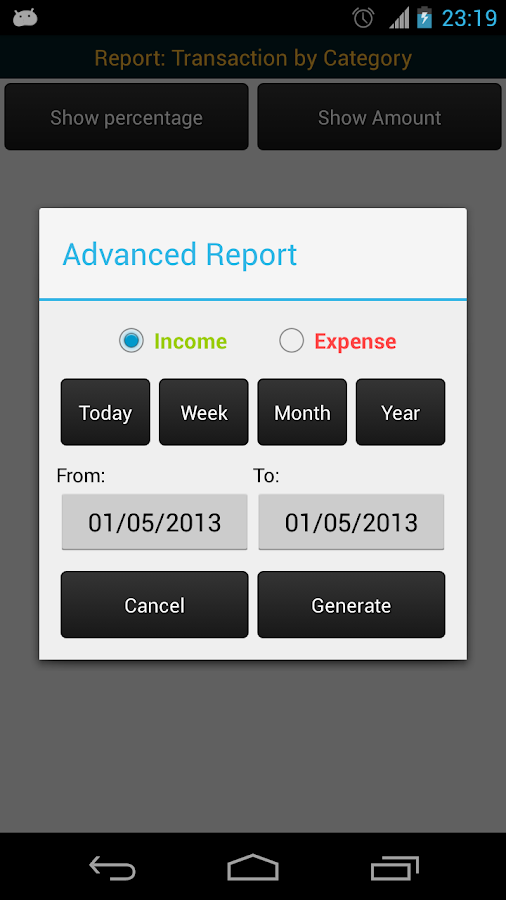 MoneyPro - Expense Manager- screenshot