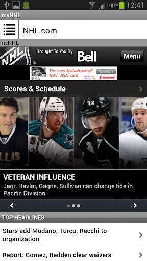 my NHL