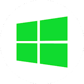 GOWidget - Win8 Green Theme