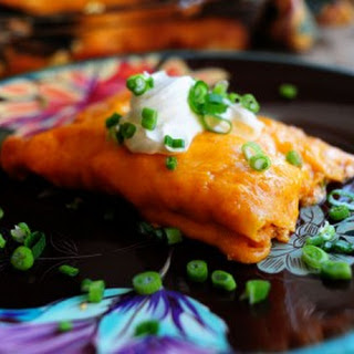 Sour Cream Enchiladas.