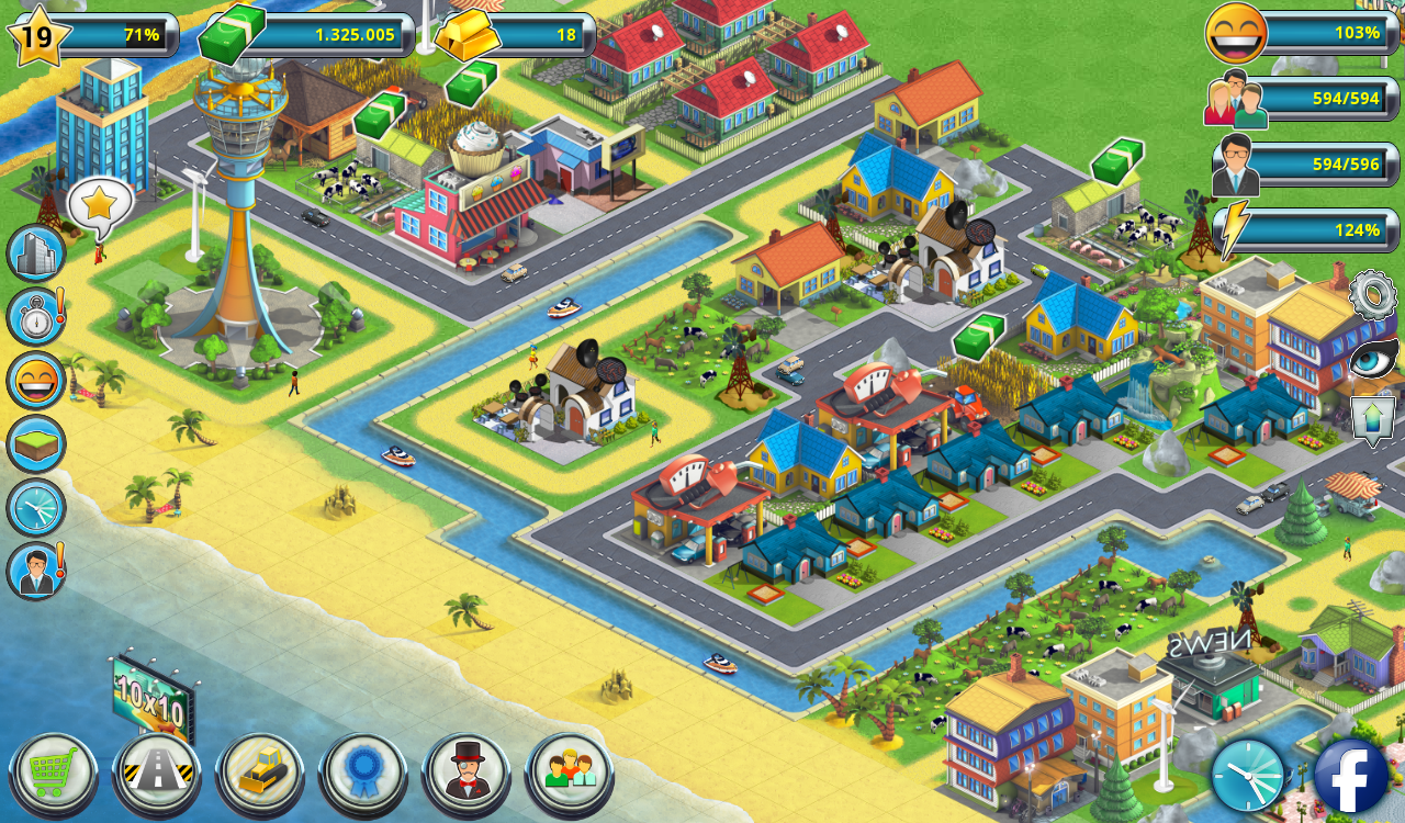 City island 2 building story sim town builder android for Build a house online free