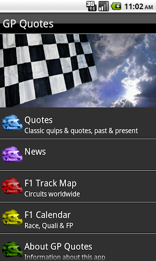 【免費運動App】GP Motorsport Quips and Quotes-APP點子