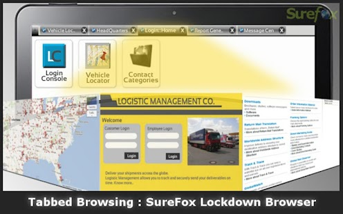 SureFox Kiosk Browser Lockdown - screenshot thumbnail