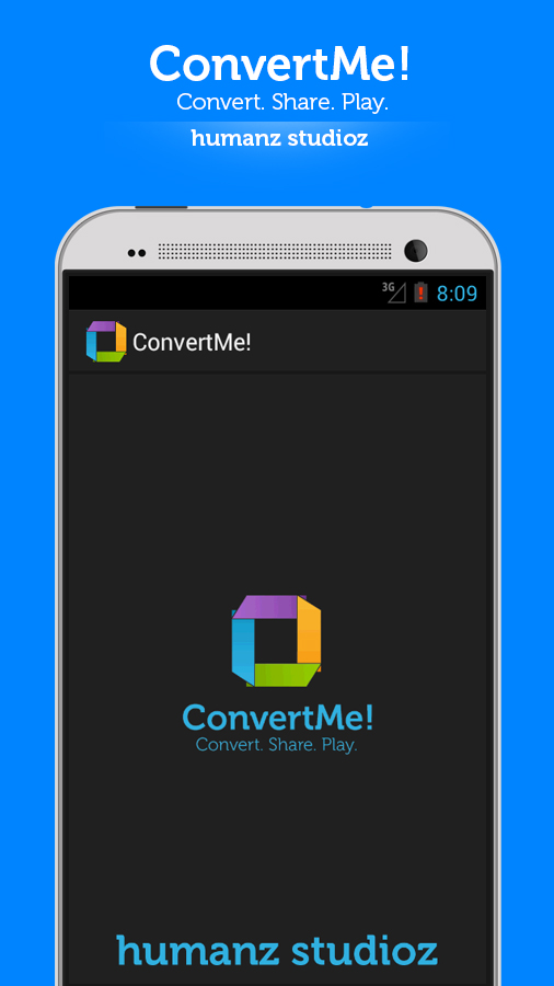 ConvertMe!- screenshot