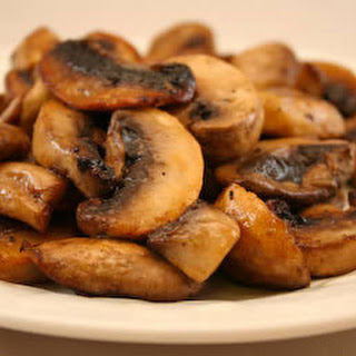Easy Grilled Mushrooms.