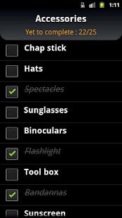 Ultimate Checklist - screenshot thumbnail