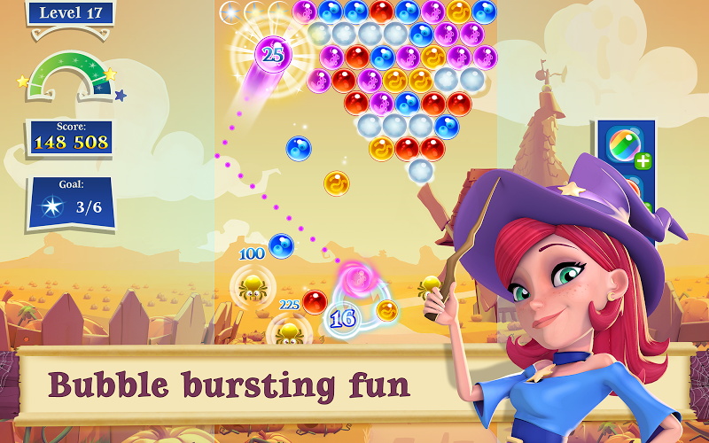 Bubble Witch 2 Saga Mod v1.31.2 APK (Unlimited Boosters & Lives) - screenshot