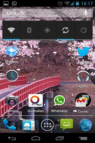 個人化必備APP下載|Live Wallpaper Japanese Bridge 好玩app不花錢|綠色工廠好玩App