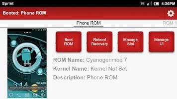 Screenshot of Boot Manager Lite