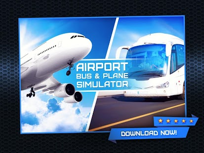 Airport Bus Plane Simulator