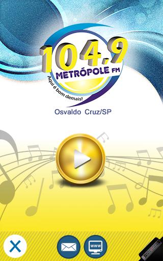 Metrópole FM Osvaldo Cruz SP