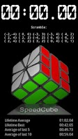 Screenshot of SpeedCube Timer