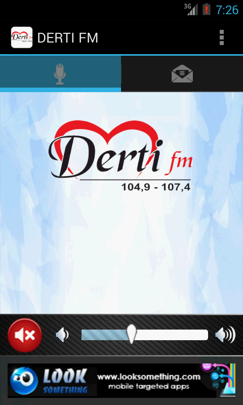 DERTI FM - screenshot
