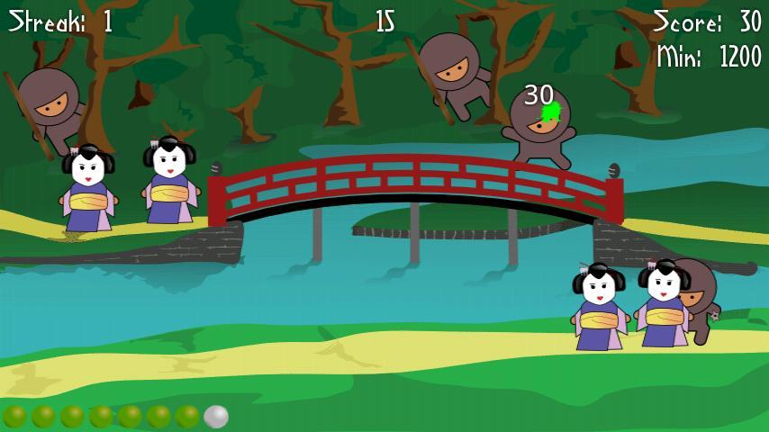 Ninja Splat- screenshot