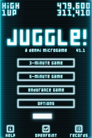 Juggle! XHD- screenshot