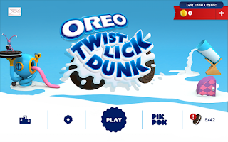 Screenshot of OREO: Twist, Lick, Dunk