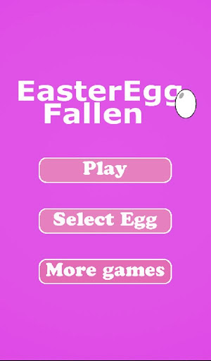 Easter Egg Fallen Down