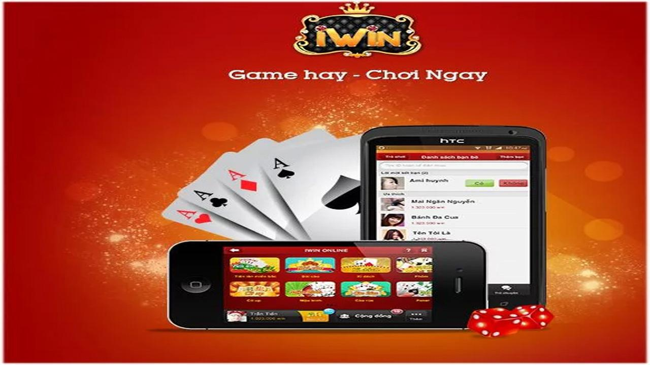 iWin 4.2.5 game bai 2014 - screenshot