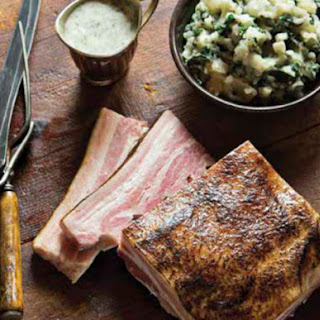 Boiling Bacon with Parsley Sauce From 'My Irish Table'.