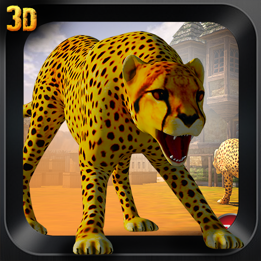 野生猎豹复仇3D辛 模擬 LOGO-阿達玩APP