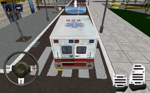 救護車駕駛模擬器2