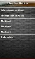Screenshot of Chechen Radio Chechen Radios