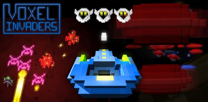 Voxel Invaders (Free)