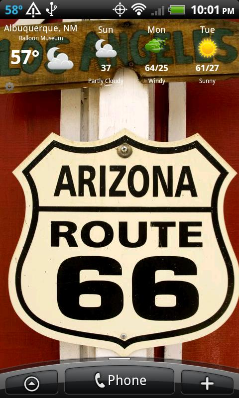 Route 66 ARIZONA HD+ Wallpaper- screenshot