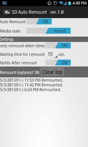 SD Auto Remount w/Ad 1.1.1 Windows u7528 2