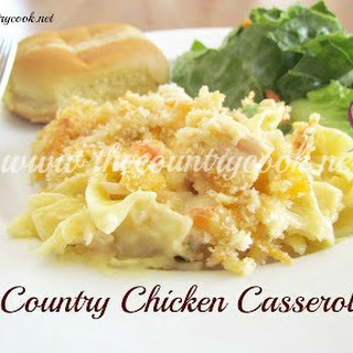 Country Chicken Noodle Casserole.