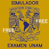 Simulador examen UNAM Free